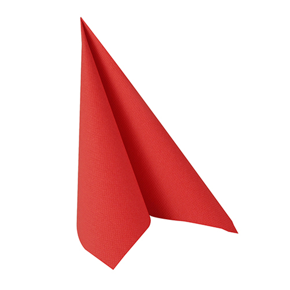 Serviettes rouges ROYAL 3 plis - 33 x 33 cm