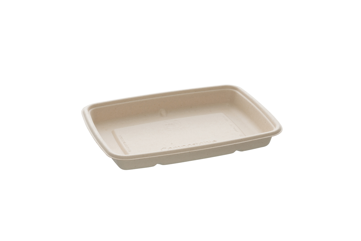 Barquettes rectangulaires taille basse 600 ml - 16 x 23 x 3 cm